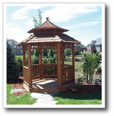 Toronto Decks And Fences Custom Gazebos And Cabanas